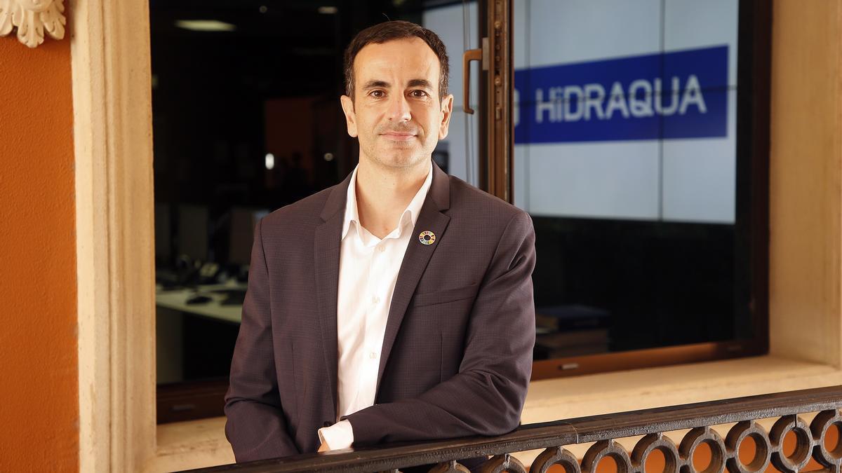 Ciriaco Clemente, gerente de Hidraqua en Marina Baixa y la Marina Alta