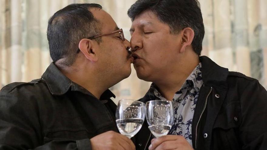 David i Guido, la primera unió civil d'una parella del mateix sexe a Bolívia
