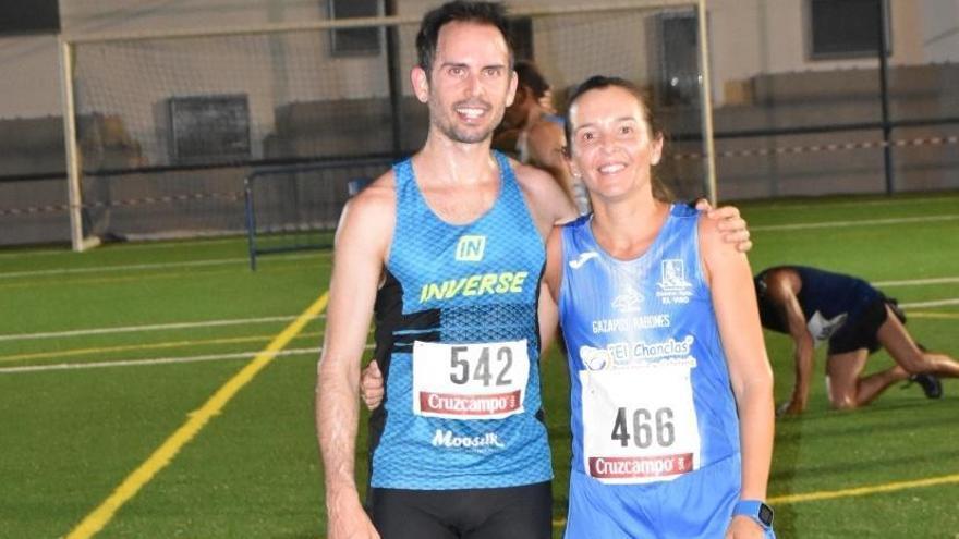 Carlos Cera y Maribel Díaz vencen en El Viso