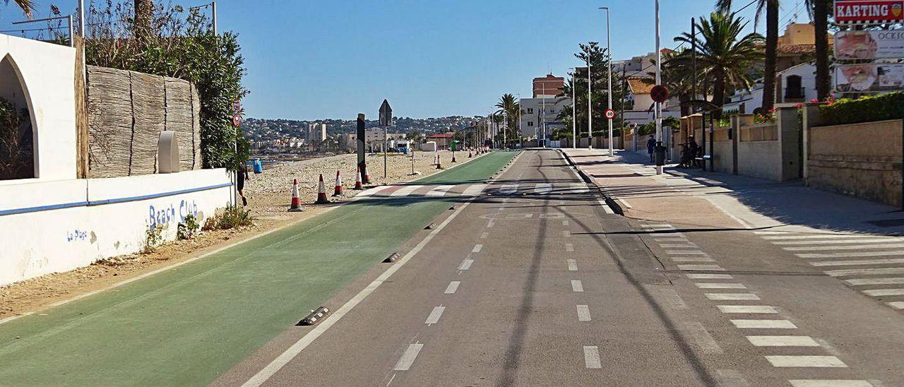 Xàbia destina 64.000 euros a redactar un nuevo Plan de Movilidad Urbana.