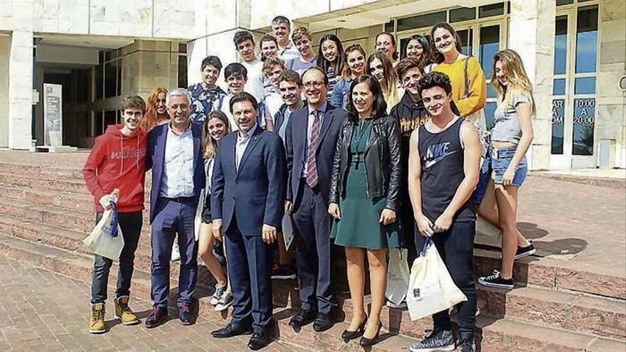 Alumnos argentinos,  de visita en Galicia