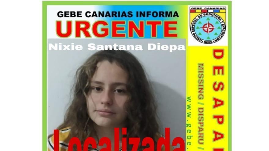 Hallada en buen estado una joven desparecida en Gran Canaria