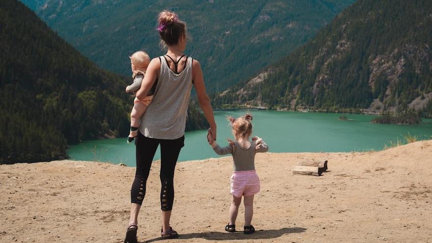 Cinco rutas de senderismo para hacer con niños