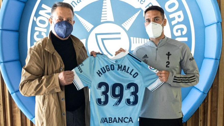 A Hugo Mallo ya solo le queda por delante Manolo