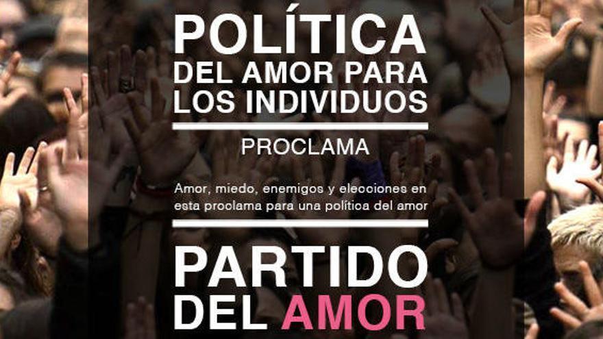 """Un nuevo partido aspira a dirigir el Parlament sobre """"los siete principios del amor"""""""