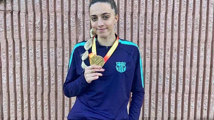 Lucía Pinacchio gana el título de 800 en el Nacional sub-20