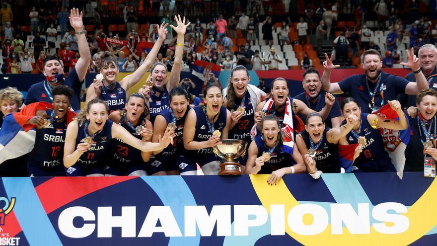 Serbia se lleva el título en el Eurobasket Femenino