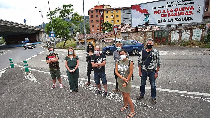"""Podemos advierte de los riesgos de """"quemar basura en la térmica de La Pereda"""""""