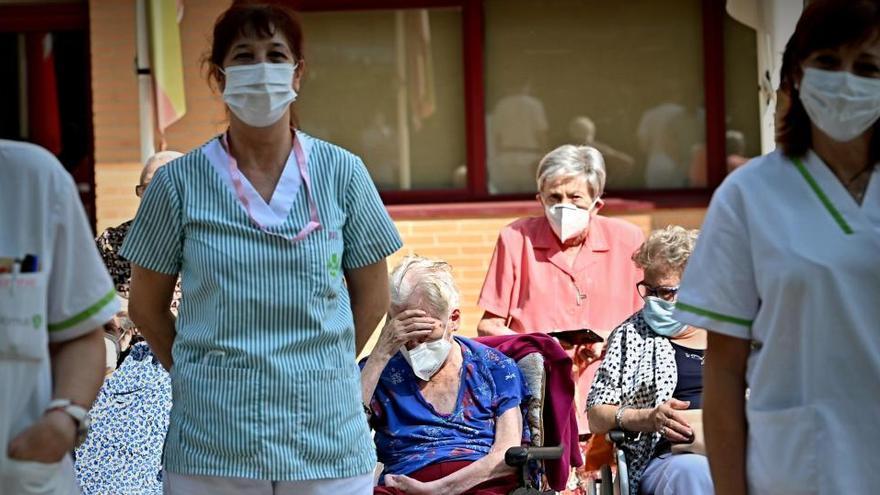 Al menos 23.242 mayores han fallecido en residencias desde que comenzó la pandemia