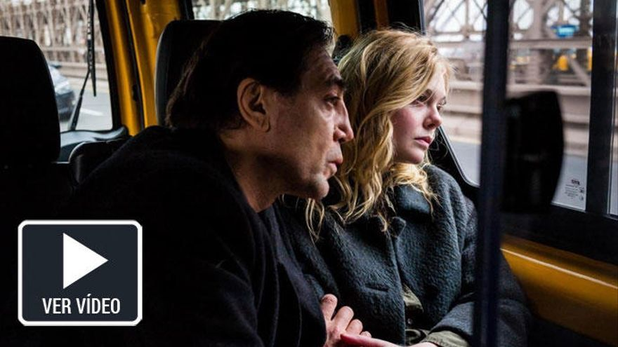 Javier Bardem y Elle Fanning protagonizan el tráiler de 'The Roads Not Taken'