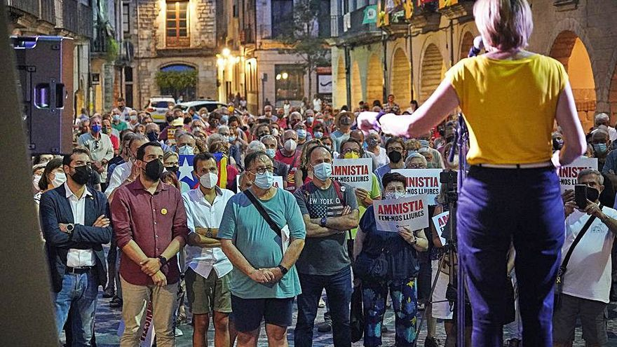 Carme Forcadell: «Jo no m'avergonyeixo dels plens  al Parlament del 6 i 7 de setembre de 2017»