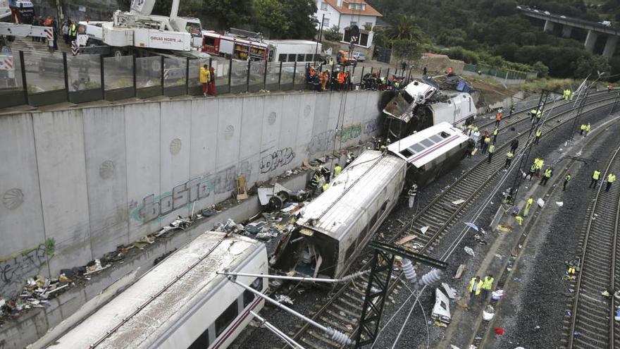 Únicamente dos investigados por el accidente del Alvia