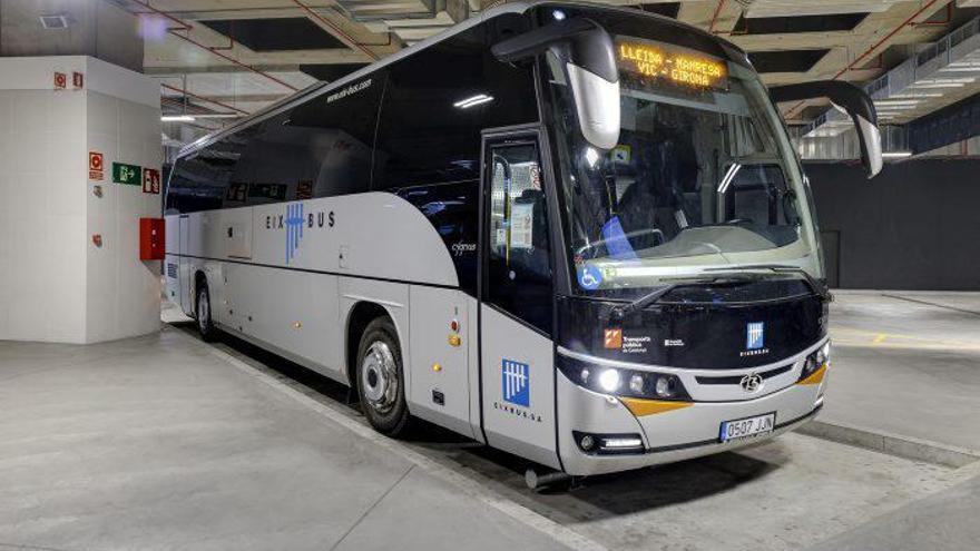 L'Eix Bus amplia un 37% les freqüències entre Girona i Lleida