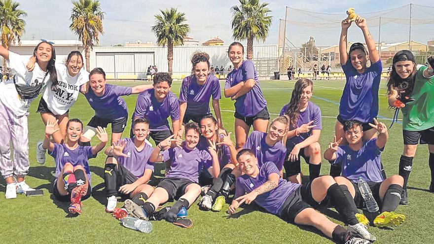 Auge histórico del fútbol femenino en Castellón tras el covid-19
