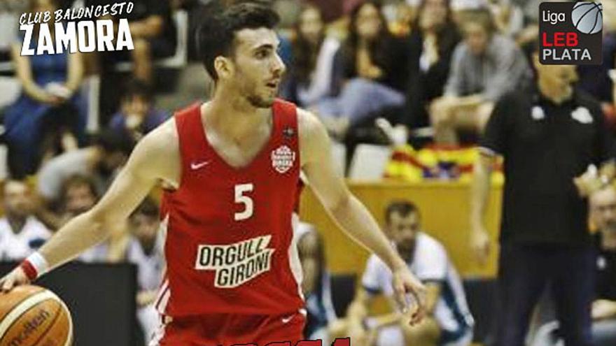 El CB Zamora incorpora el talento del joven Sergi Costa