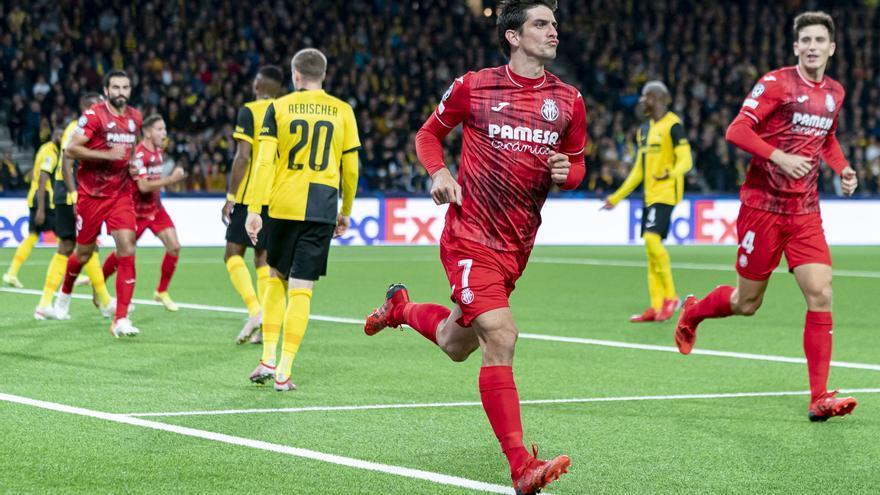 Las mejores imágenes del Young Boys - Villarreal CF de Champions League