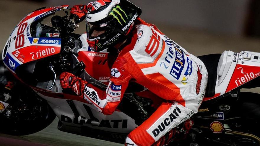 Lorenzo, el cuarto más rápido en primera jornada de test MotoGP en Jerez