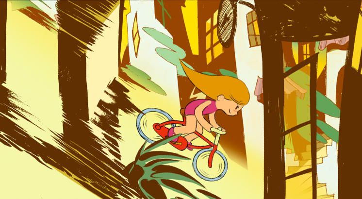 """Cortometraje de animación infantil """"Colores"""""""