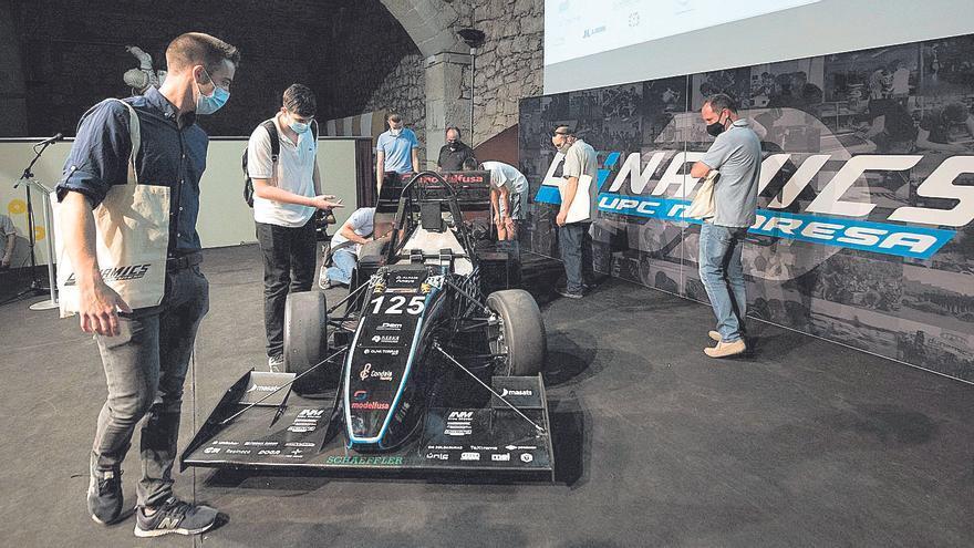 El nou cotxe de curses de la Politècnica a Manresa serà més potent i lleuger