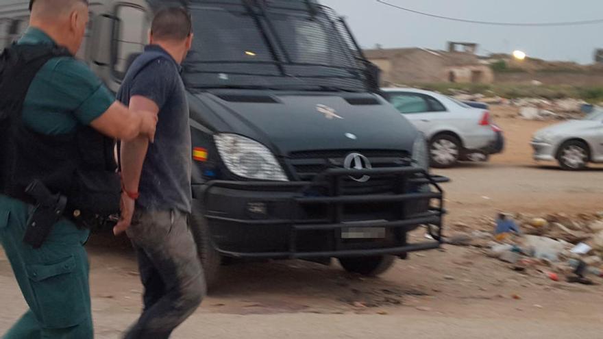 Polizei überwacht mit einer Drohne Mallorcas Drogenclans