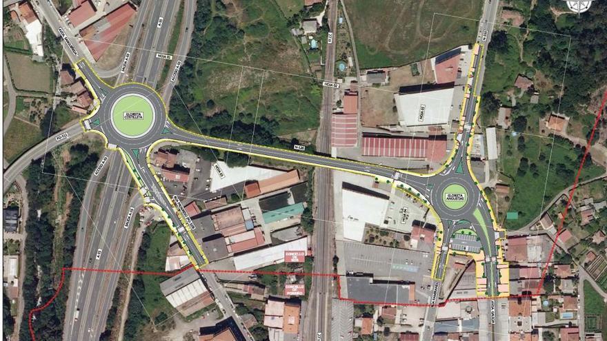 La Xunta invertirá un millón de euros en la humanización del nudo de Sanguiñeda