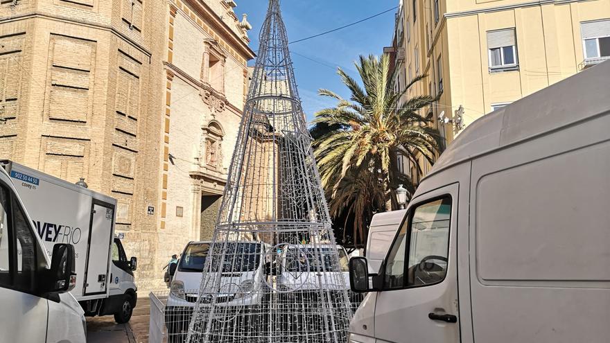 La plaza del ayuntamiento  tendrá mercadillo de Navidad
