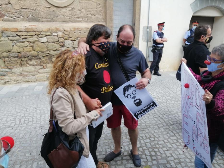Judici a l'activista i exregidor santjoanenc Jordi Pesarrodona
