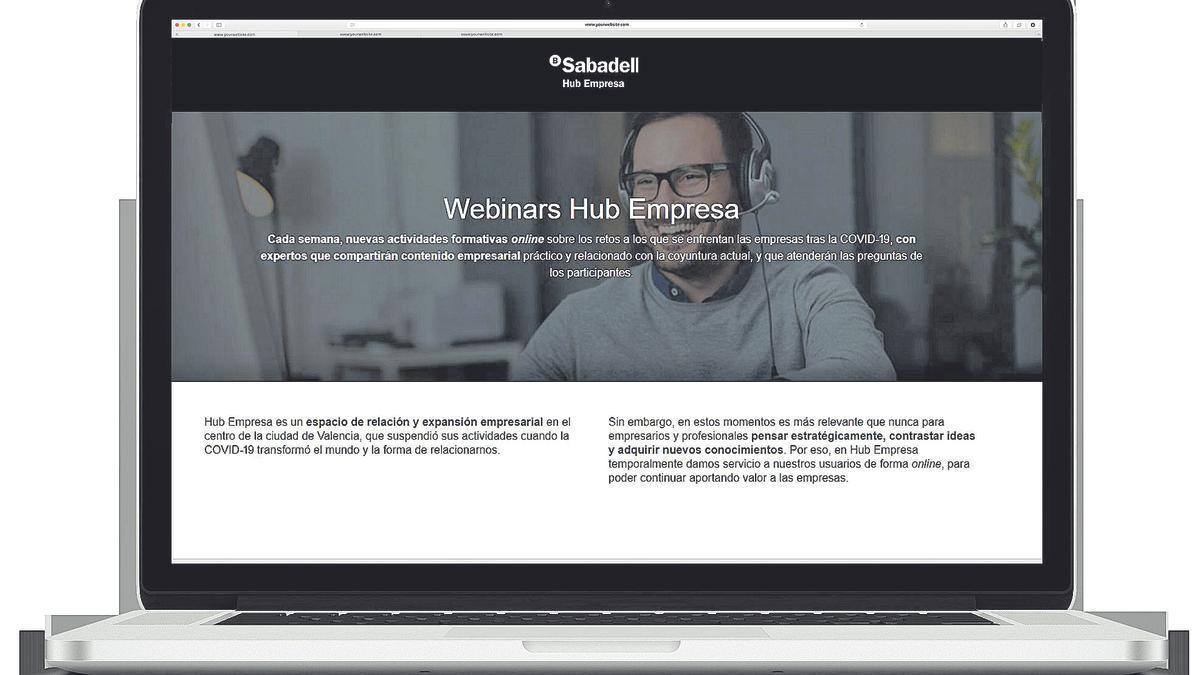Webinars HUb Empresa de Sabadell