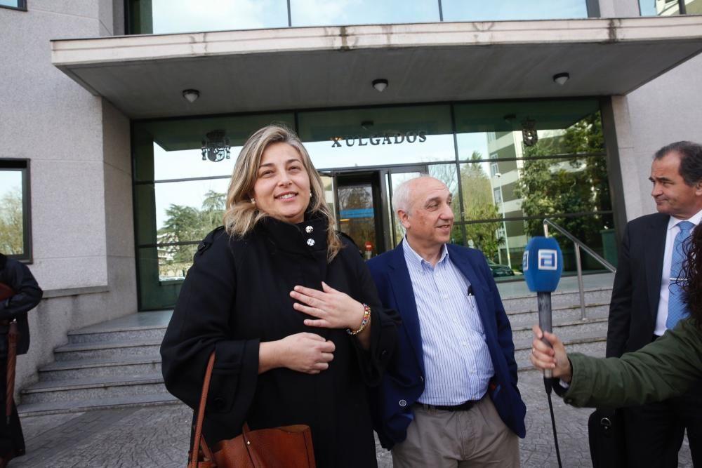 Declaraciones ante la juez De Lara por la trama de