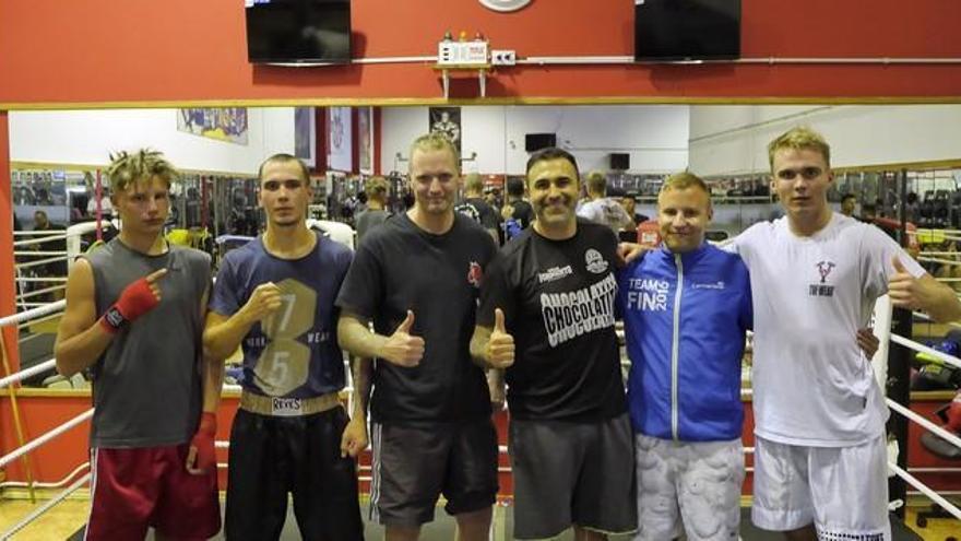 Desde Finlandia a Gran Canaria para entrenar