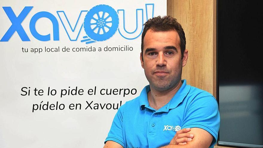 Diego Queiro, director y fundador de Innovatecgalicia y de Xavou!.    // CARLOS PARDELLAS