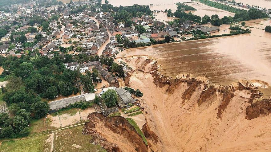 Inundaciones, incendios y tiempo de extremos: el caos climático era esto