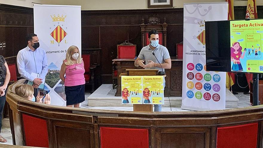 Una campaña permitirá lograr 25 € de regalo en los comercios de Sagunt