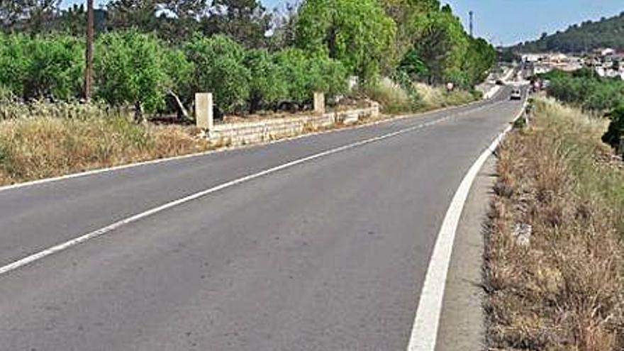Licitan las obras para construir la vía ciclopeatonal entre Chella y Bolbaite