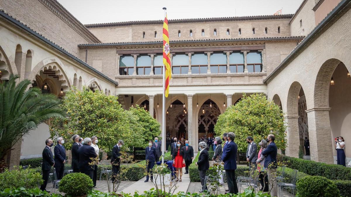 Acto institucional del Día de Aragón en La Aljafería