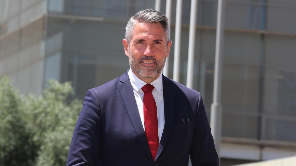 Juan Carlos Maldonado, dirigente de Ciudadanos y vicepresidente de la Diputación Provincial de Málaga