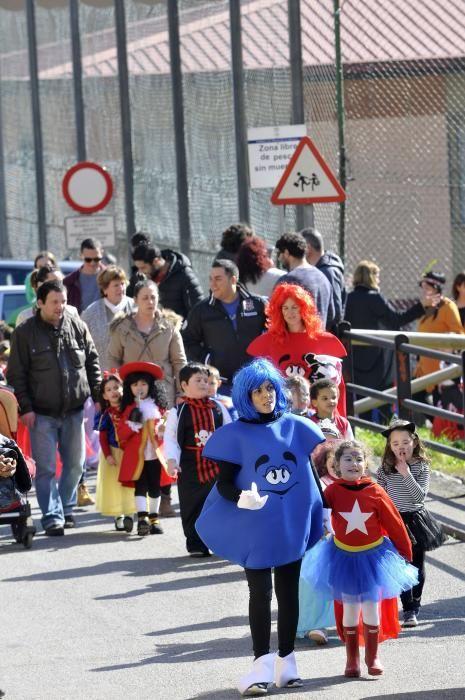 El carnaval del colegio de La Foz.