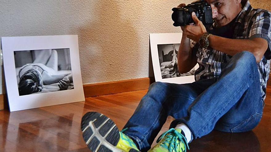 El fotógrafo de Sanabria Óscar Manuel Sánchez expone en el Castillo de Puebla