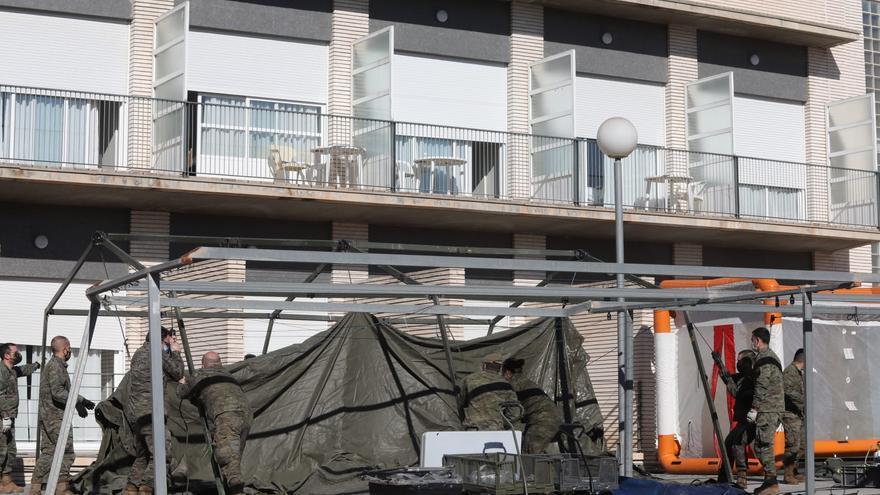 El PSOE de Elche exige a la Generalitat que intervenga la residencia de Altabix