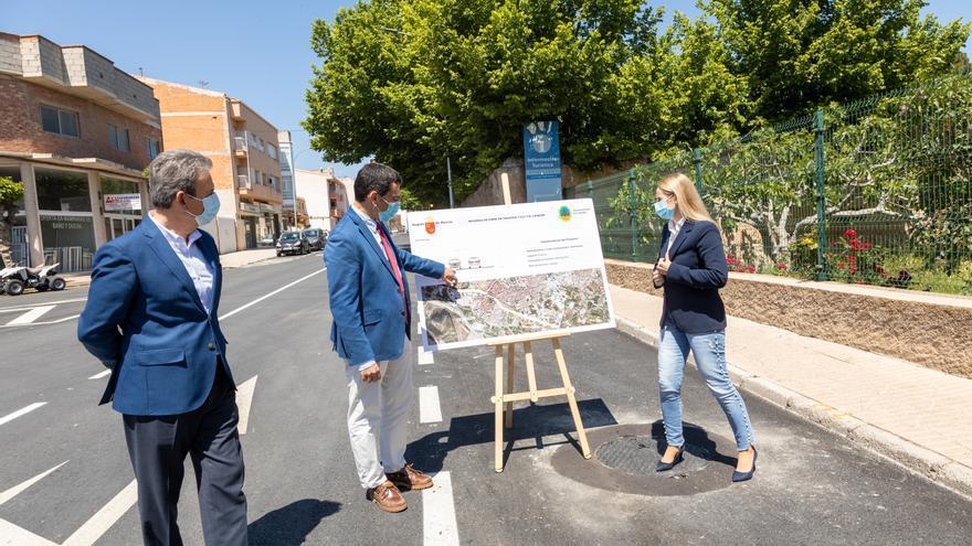 La Comunidad mejora la travesía que cruza Cehegín de Este a Oeste
