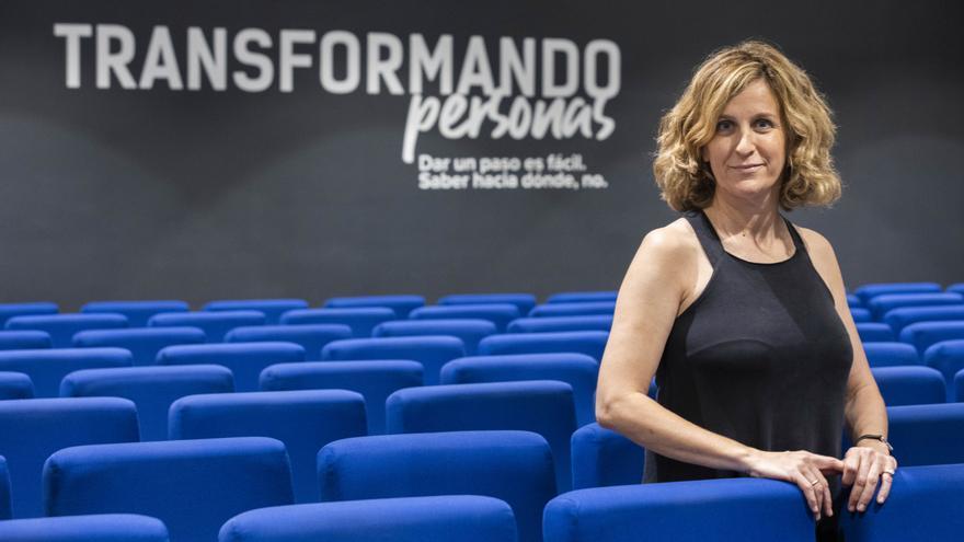 María Guijarro: 'La escuela del futuro debe ser versátil, flexible y transparente'