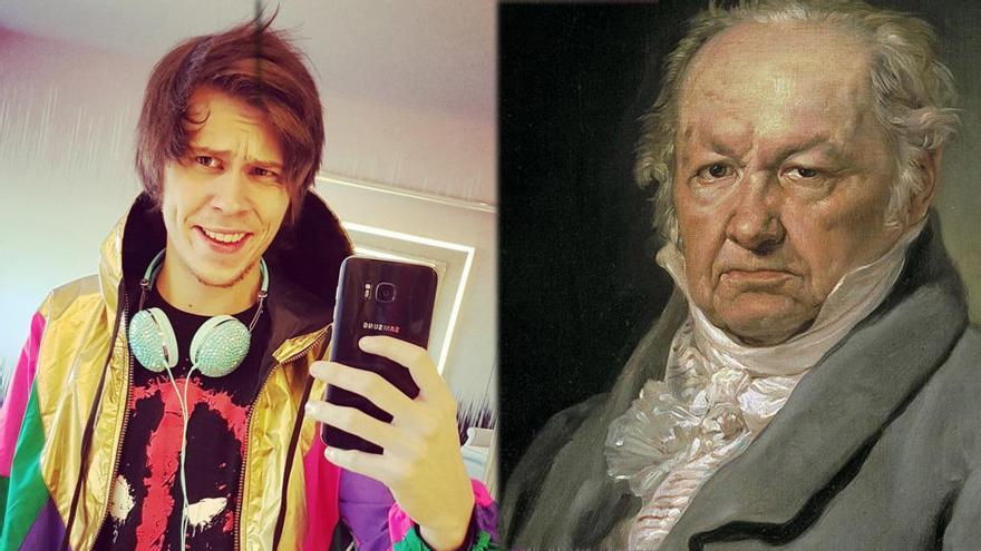 ¿Qué tienen en común El Rubius y Goya?