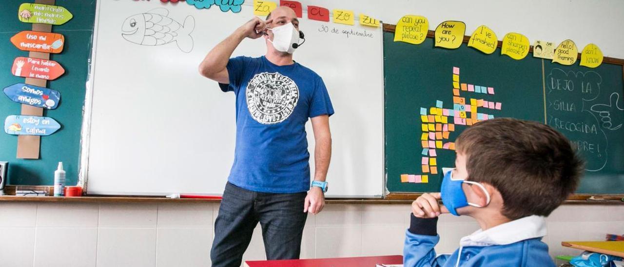 Uno de cada tres profesores en la educación pública asturiana es interino