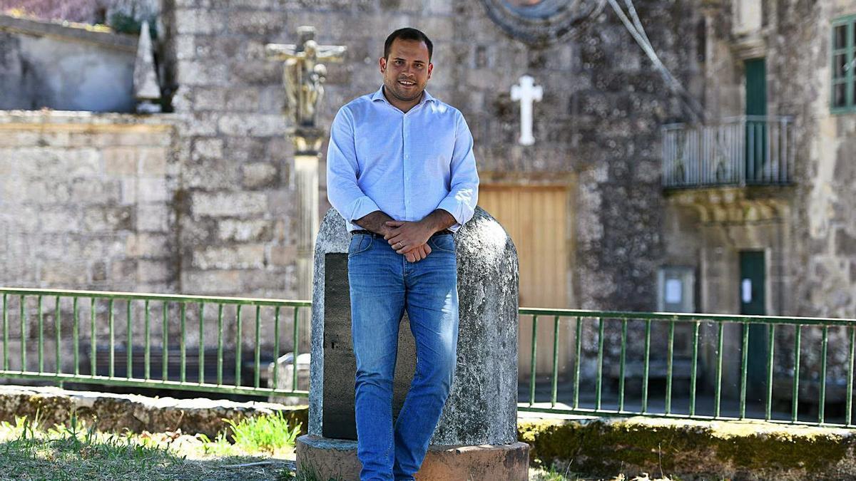 Jorge Cubela, alcalde de Cerdedo-Cotobade. |  // GUSTAVO SANTOS