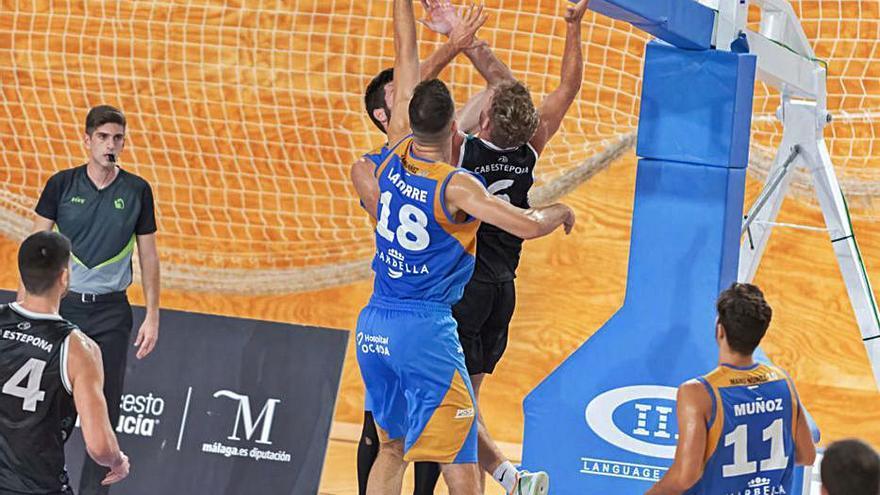 El CB Marbella arranca con la visita de Enerparking Basket Navarra