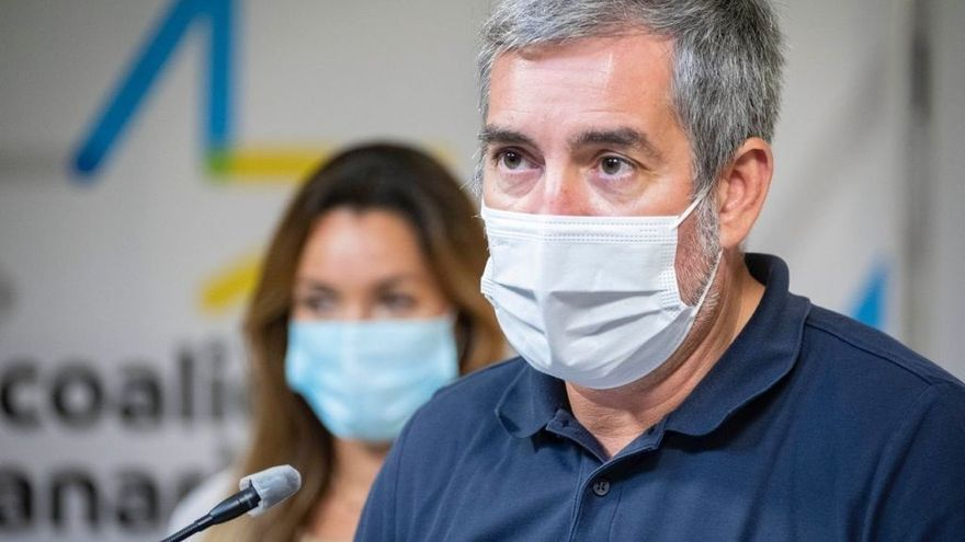 """Clavijo exige """"responsabilidad"""" a Torres para evitar que el Plátano de Canarias quede """"herido de muerte"""""""