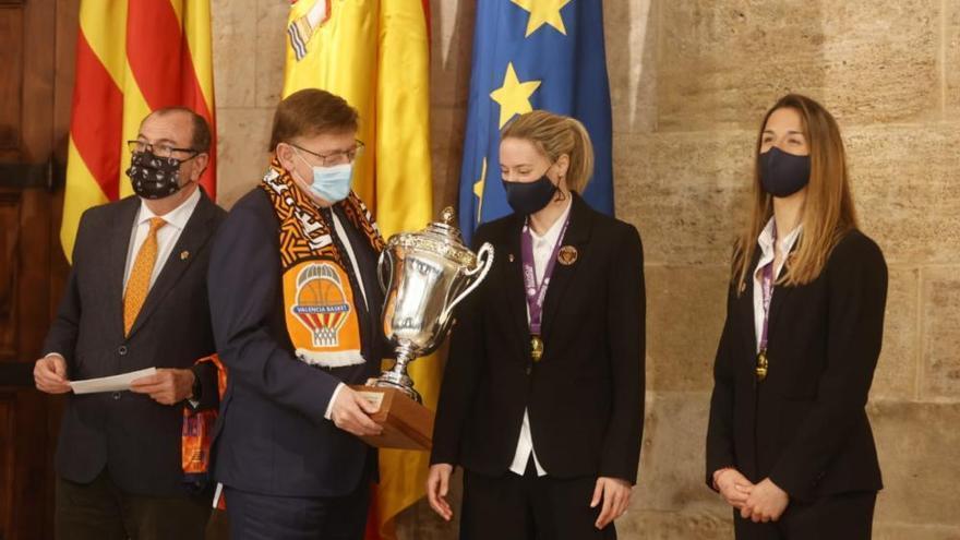Valencia ofrece la Eurocup Women a las instituciones