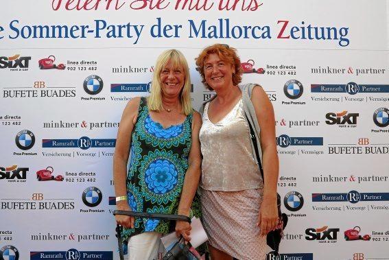 Christiane Noruschat und Anke Ledebar