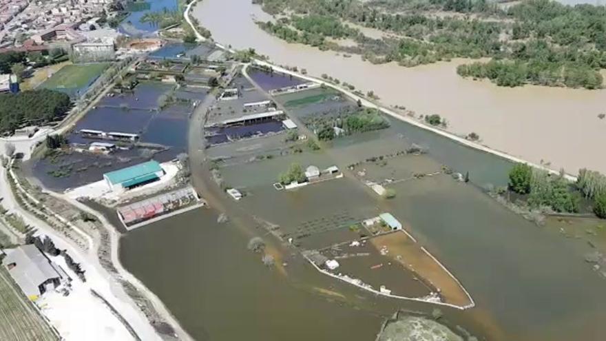 Europa cofinanciará el proyecto para mitigar las riadas del Ebro