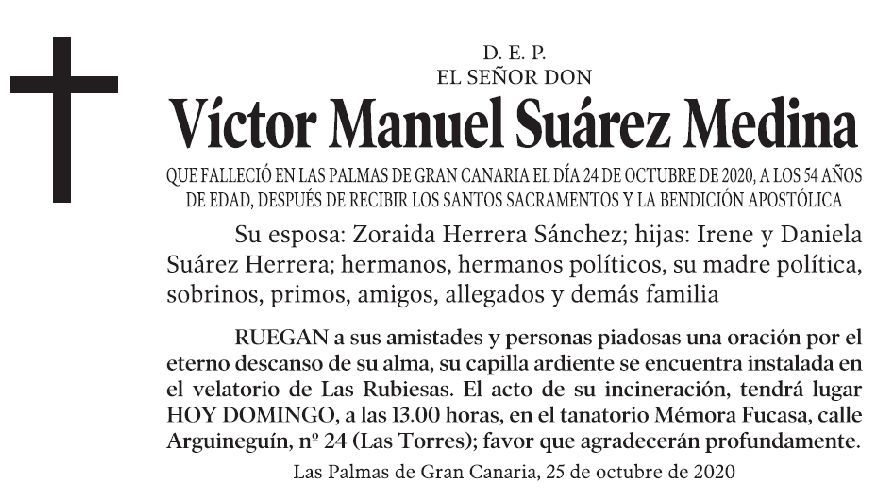 Víctor Manuel Suárez Medina